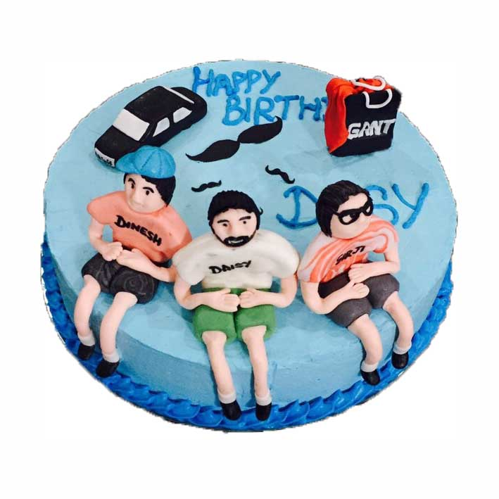 Miraculous Guy Birthday Cake Grill To Chill Personalised Birthday Cards Beptaeletsinfo